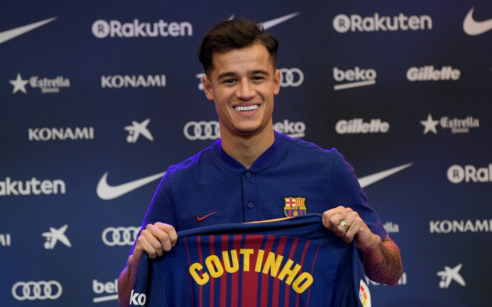 Футболистът на Барселона Филипе Коутиньо не е сигурен в бъдещето