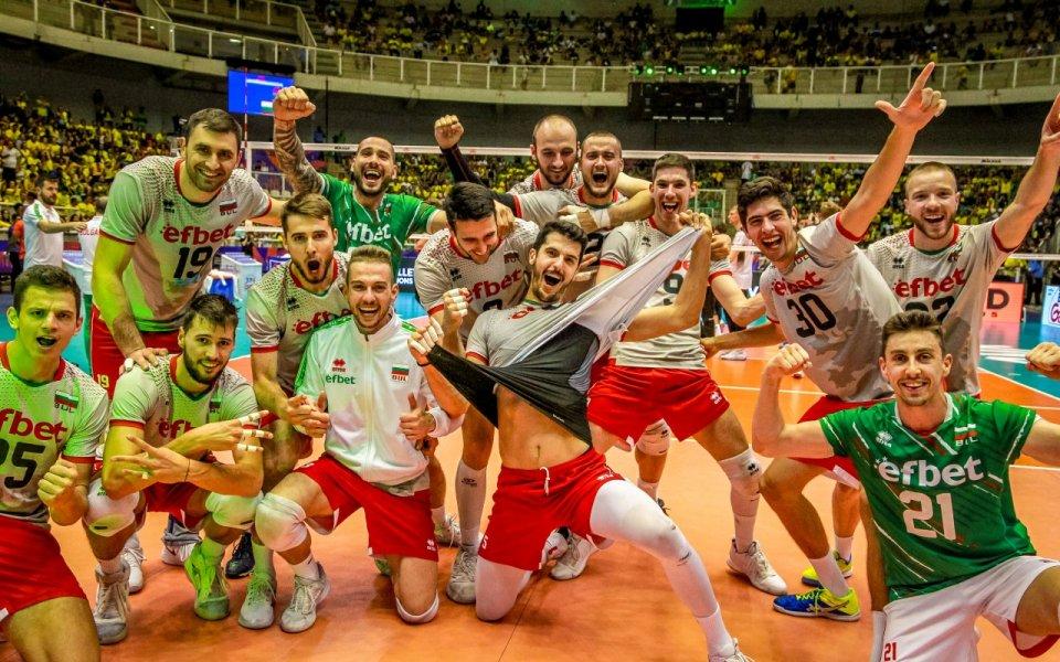 Националният отбор на България по волейбол за мъже пристигна късно