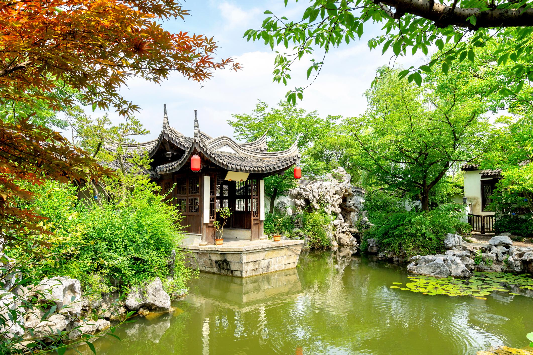 Градините в Съжоу, Китай