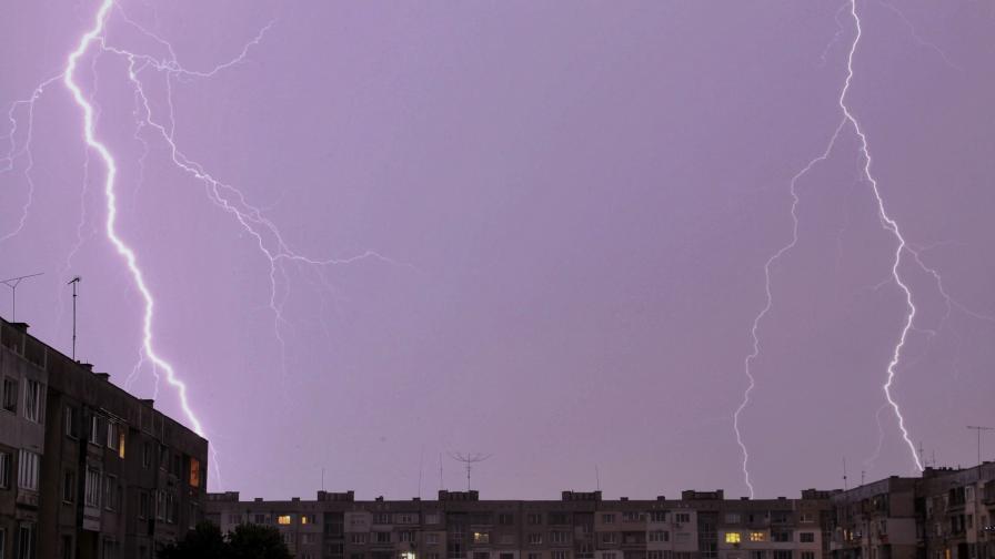 Летните бури в България