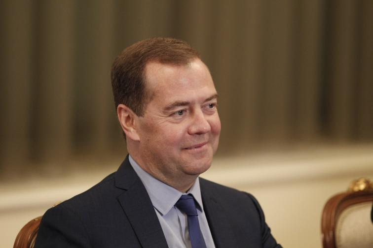 Дмитрий Медведев Русия