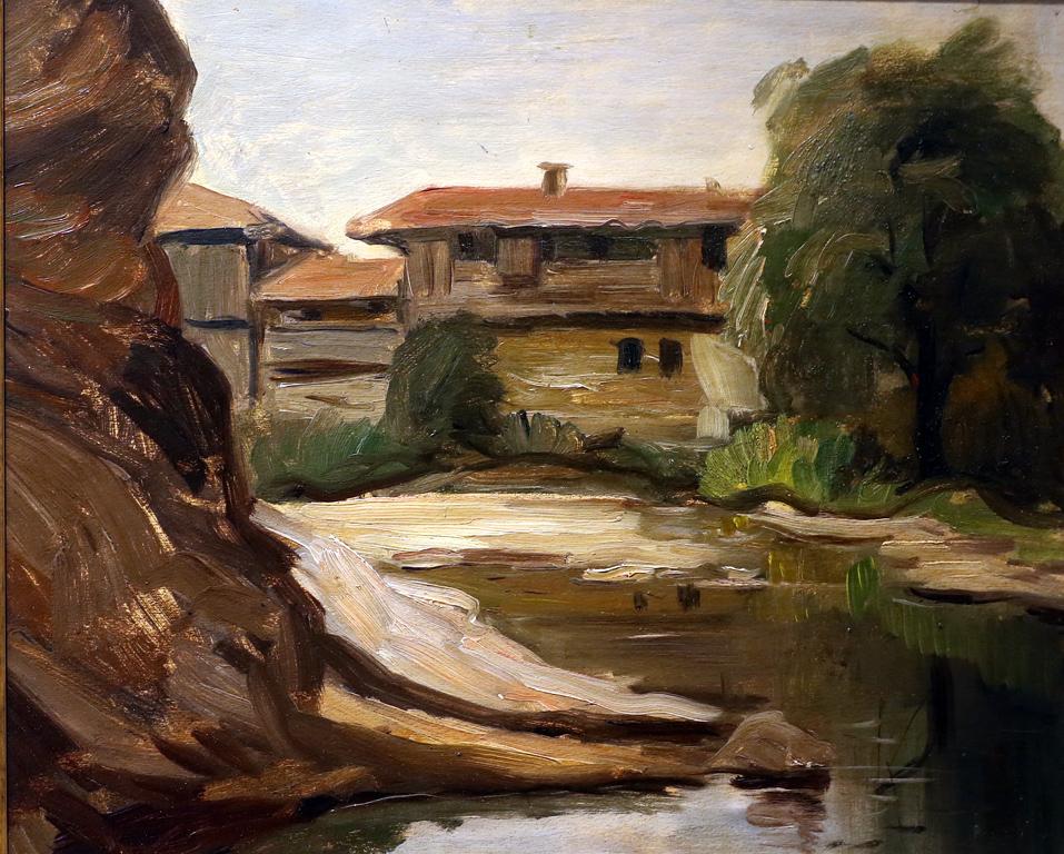 Слави Генев (1893 – 1977) Самоковски къщи, 30-те г. на ХХ в.