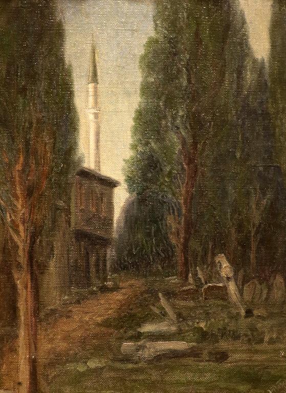 Йозеф Питер (1881 – 1925) Гробище, ок. 1910