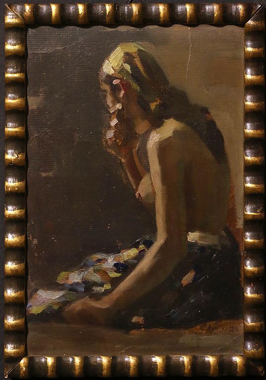 Съби Иванов Етюд 1923г.