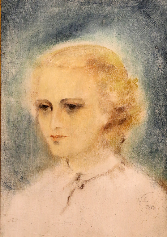 Цветана Гатева Автопортрет 1933г.