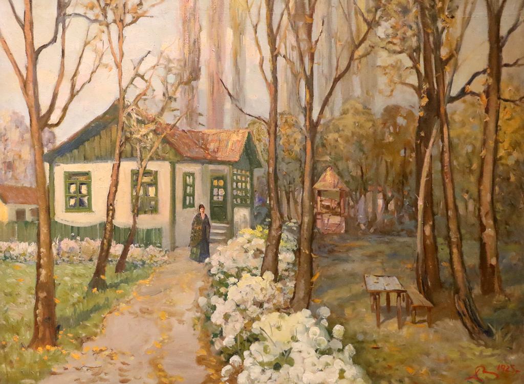 Данаил Дечев Пейзаж 1925г.