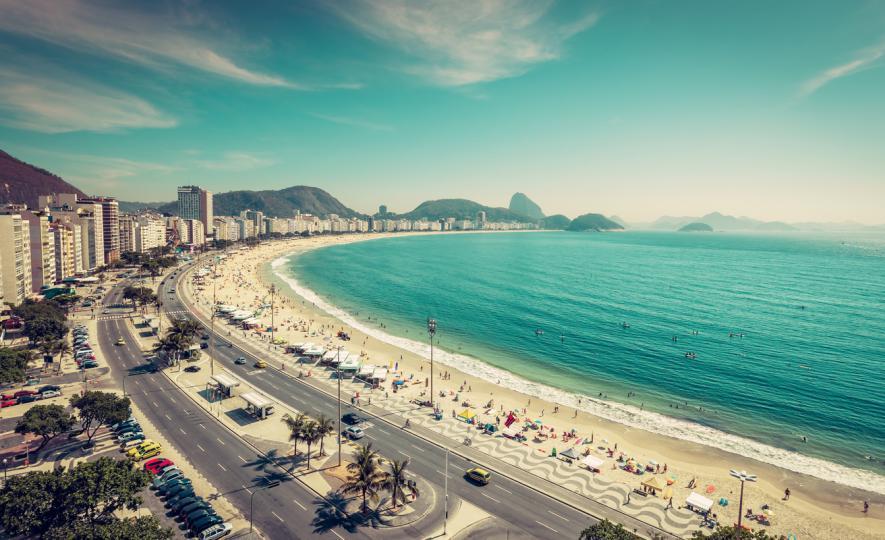 <p>Копакабана, Рио де Жанейро</p>