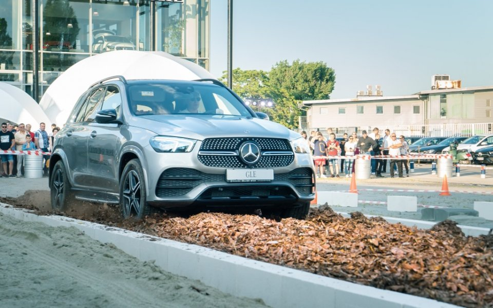 Силвър Стар представи новия лидер в SUV сегмента - Mercedes-Benz GLE