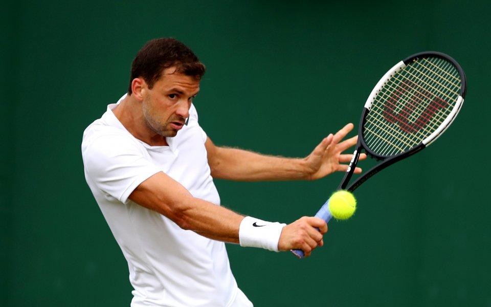 Българският тенисист Григор Димитров и неговият партньорКей Нишикори се отказаха