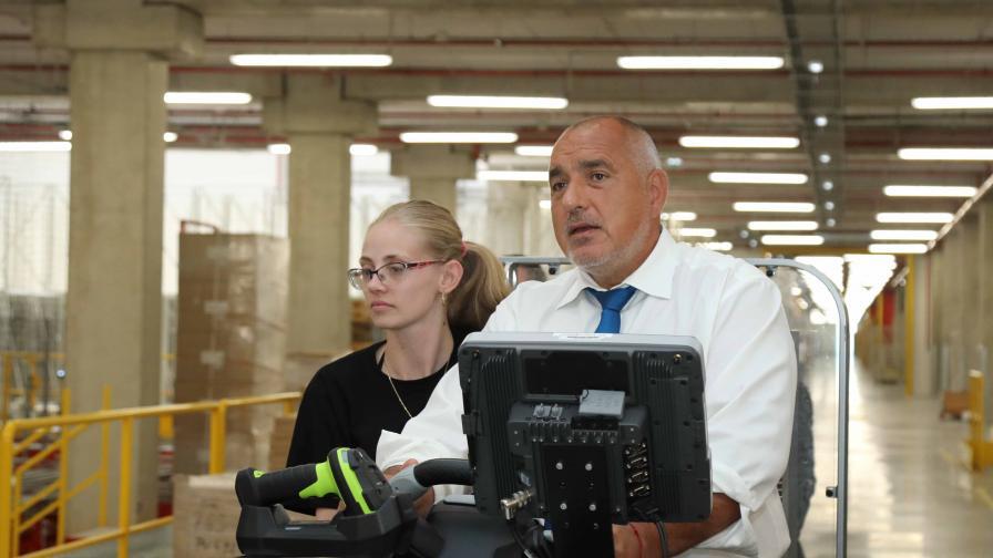 """Борисов: Сивата икономика намалява, """"светлата част"""" се повишава"""