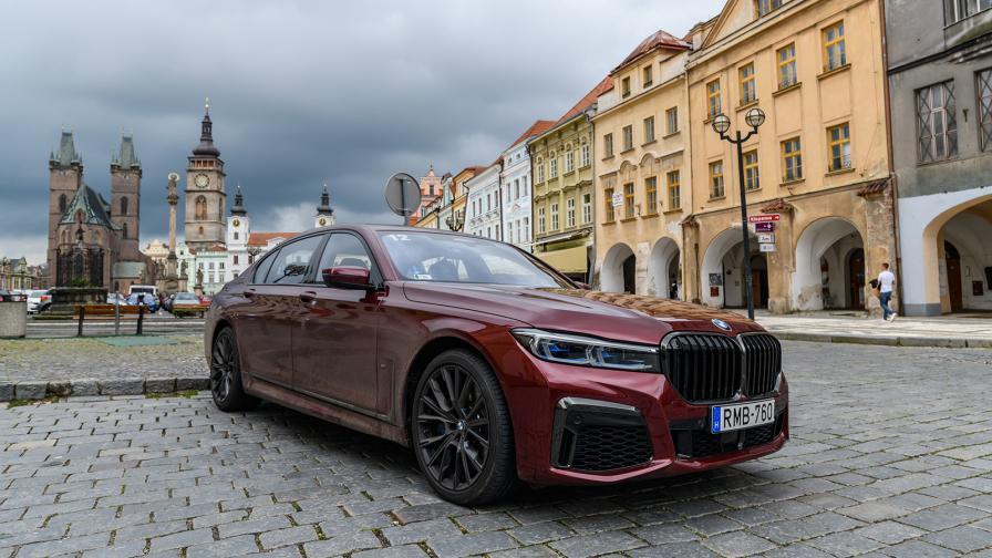 <p>Тестваме върха в гамата на BMW: 750i &amp; M760Li</p>
