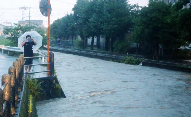Над 1 млн. евакуирани заради порои в Япония