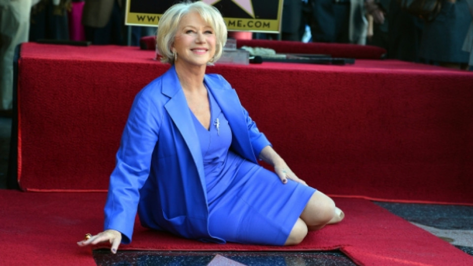 Хелън Мирън получи 2488-та звезда в Алеята на славата в Холивуд