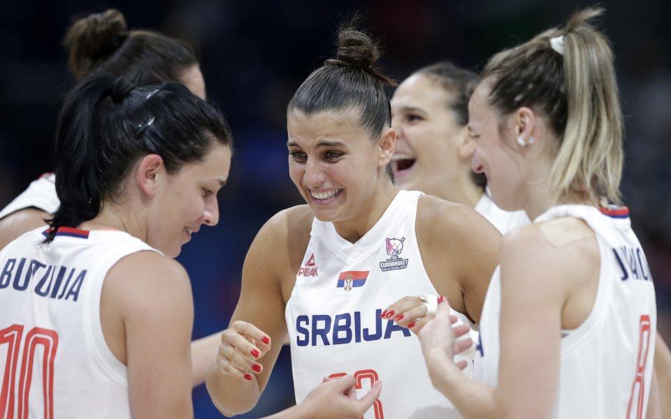 Сърбия взе бронз на Европейското по баскетбол за жени