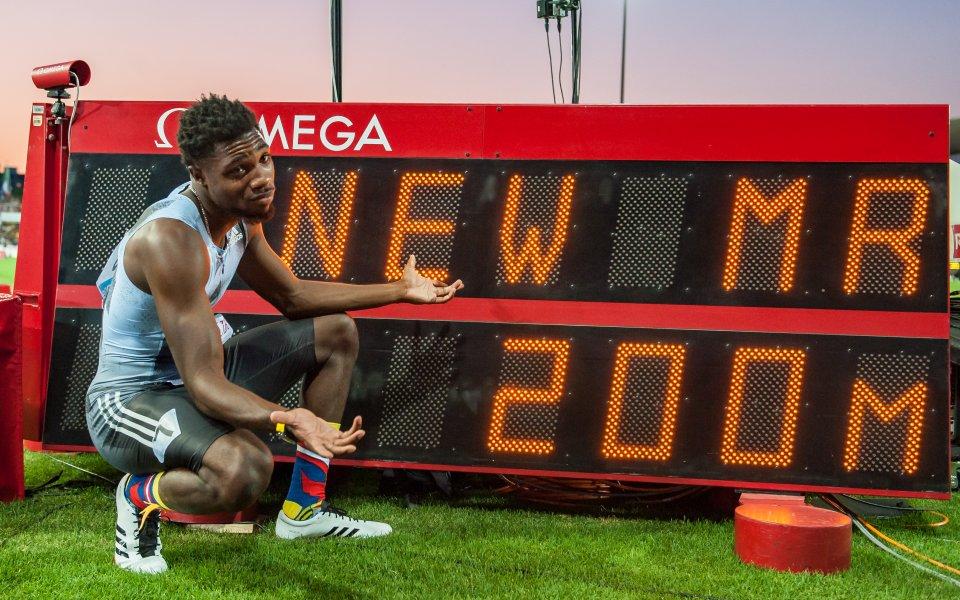 Падна рекорд на Юсейн Болт в бягането на 200 м