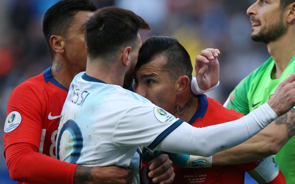 Полузащитникът на национални отбор на Чили Гари Медел смята, че