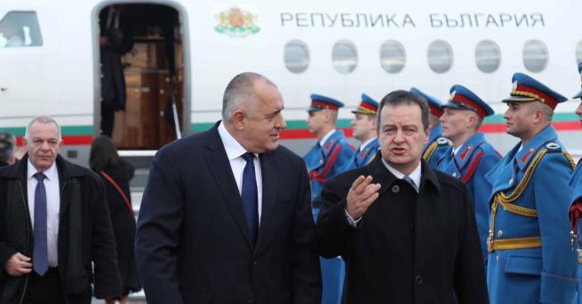 Свят Дачич: Сърбия желае приятелство и разбирателство с България В