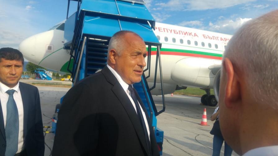 Бойко Борисов пристига в Сараево