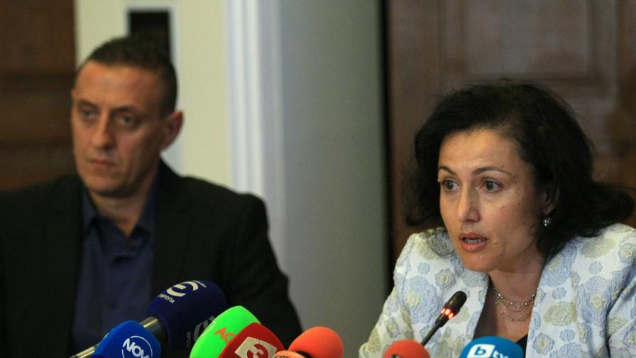 Министърът на земеделието и храните Десислава Танева