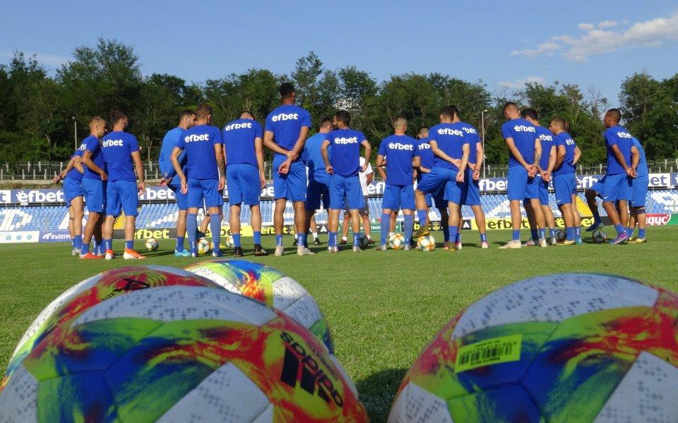 Президентът на Арда надъхва тима в последната тренировка преди историческия дебют