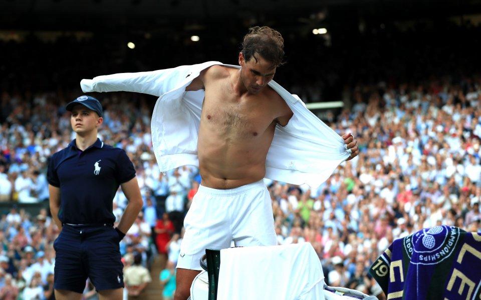 Испанският тенисист Рафаел Надал не скри разочарованието от собственото си