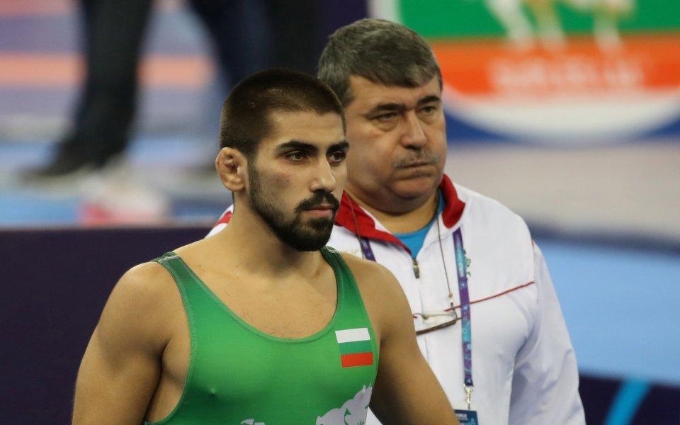 Михаил Георгиев се окичи със сребро