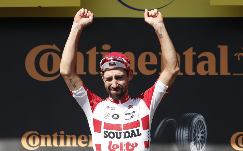 Томас де Хенд спечели осмия етап на Тур дьо Франс