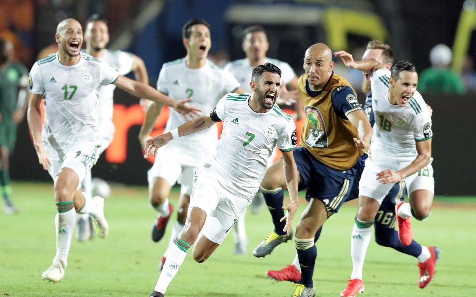 Марез подлуди Алжир с инфарктен гол и финал срещу Сенегал
