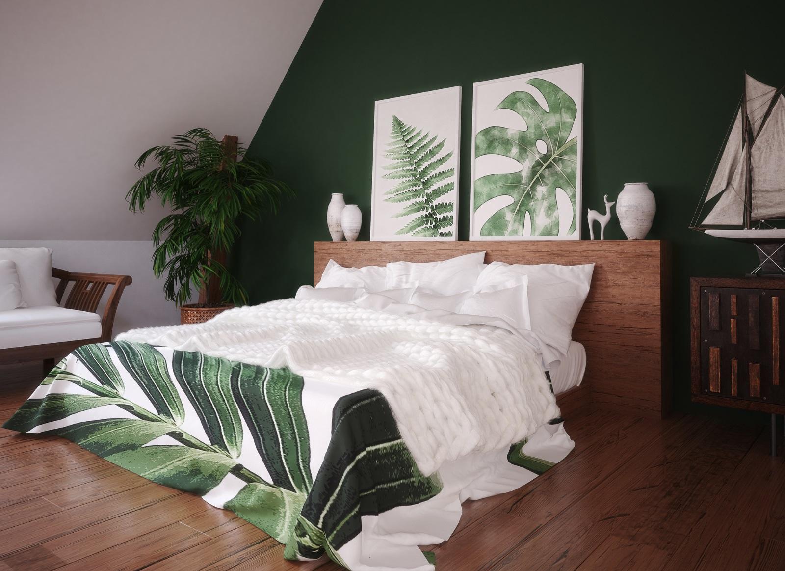 <p>Спалнята е място за отдих. Произведенията на изкуството, които изберете да поставите там, трябва да отразяват това.</p>