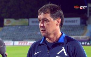 Хубчев недоволен от играта след 4:1, алармира пак за трансфери в Левски