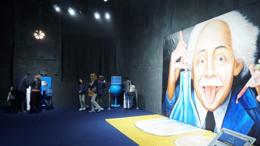 <p><strong>Световноизвестна изложба</strong> събира най-големите научни открития в София</p>