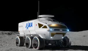 <p>Това е лунният превоз за японските астронавти</p>