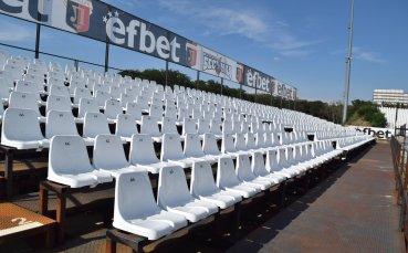 Локо Пд освежи стадиона си преди първия евромач