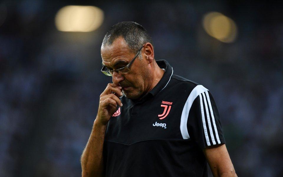 Треньорът на Ювентус Маурицио Сари обяви след загубата на своя