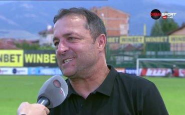 Треньорът на Ботев: Махам се, ако продадем Кристиан Димитров