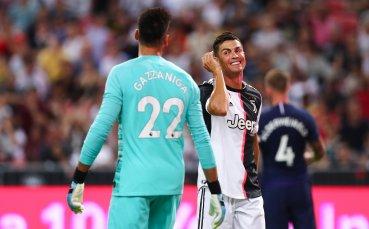 Маурицио Сари дава свобода на Роналдо