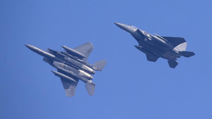 Южнокорейски изтребители F-15K