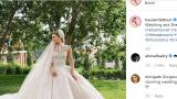 Три сватбени рокли създаде Ели Сааб за бъдещата си снаха