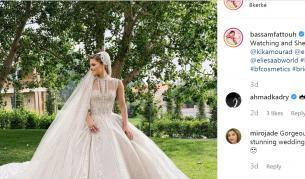 """<p><font color=""""#ffbc00"""">Като принцеса: </font>Снахата на Ели Сааб се омъжи с три рокли</p>"""