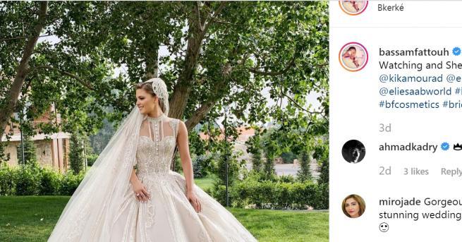 Любопитно Три сватбени рокли създаде Ели Сааб за бъдещата си