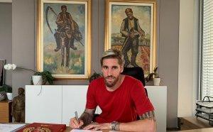 Испанският гигант от ЦСКА: Горд съм, че съм в най-великия български клуб