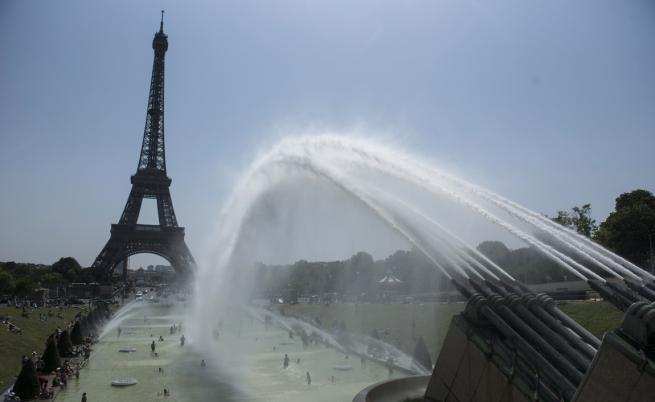 Жеги в Европа, падат температурни рекорди
