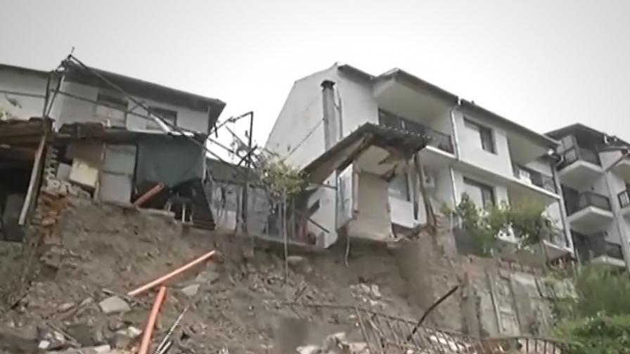 <p>Престъпно нехайство във Велико Търново, къщи падат</p>