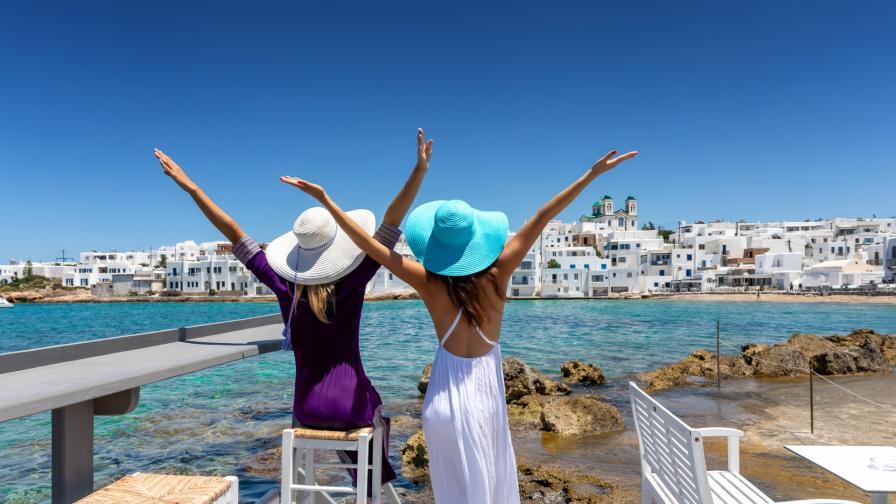 миконос сестри приятелки ваканция лято почивка