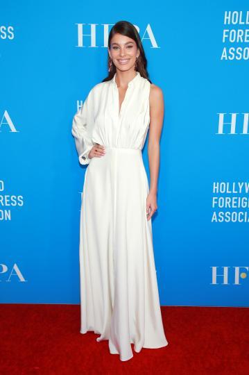 <p>Камила Мороун&nbsp;на&nbsp;гoдишната гала&nbsp;на Холивудската асоциация на чуждестранната преса</p>