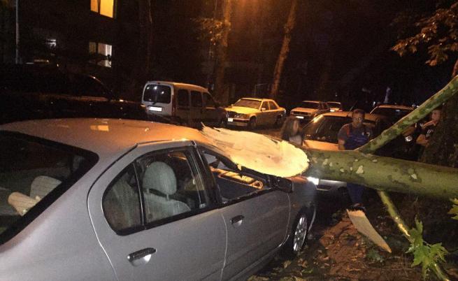 Караянчева: Ураганът в Кърджали смачка колата на баща ми