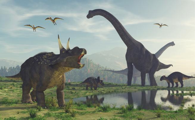 Учени откриха нов вид динозаври