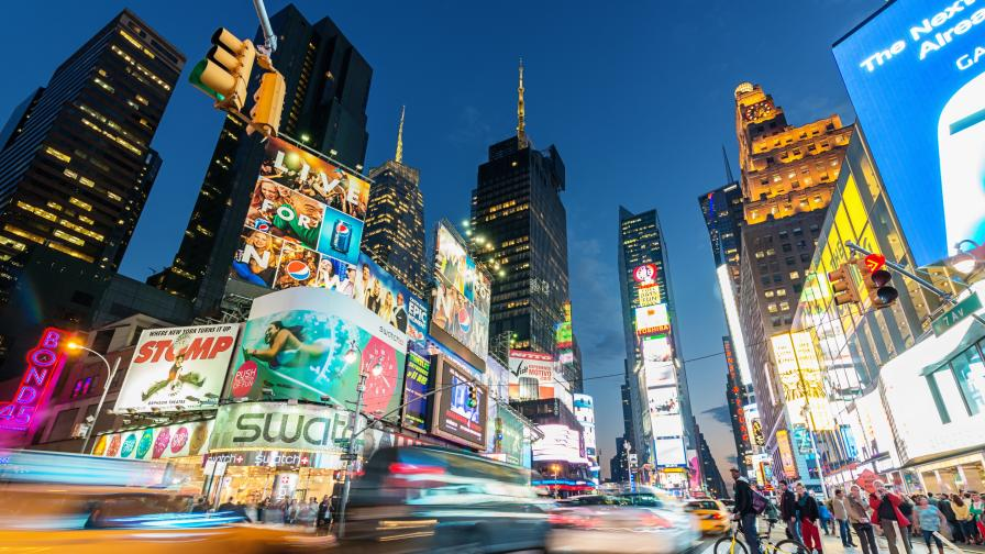 Times Square, Ню Йорк