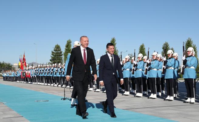 Ердоган: Турция не признава анексирането на Крим от Русия