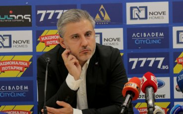 Колев: Нямам притеснения за бъдещето на Левски